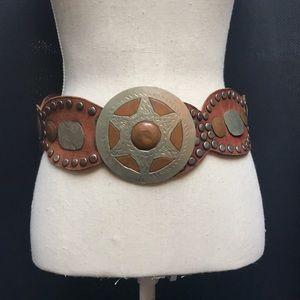 Vintage western-style belt